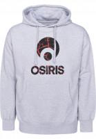 Osiris Hoodies Corporate athleticheather-molten Vorderansicht