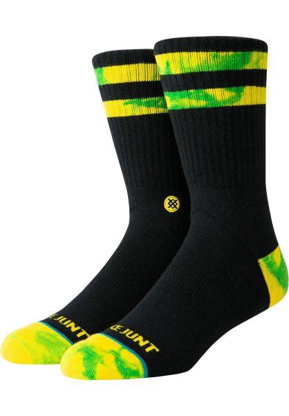 Stance Socken SJ black vorderansicht 0631698