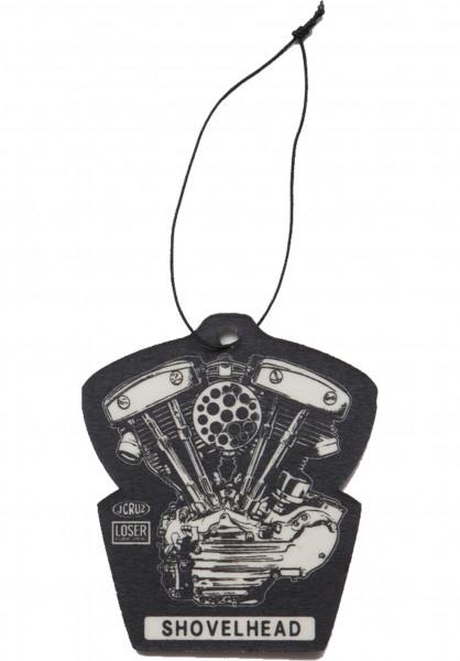 Loser-Machine Verschiedenes Shovel Air Freshener black Vorderansicht
