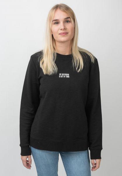 Forvert Sweatshirts und Pullover Barrow black rueckenansicht 0422627