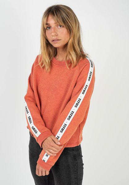 TITUS Sweatshirts und Pullover Vivi orange-washed vorderansicht 0422683