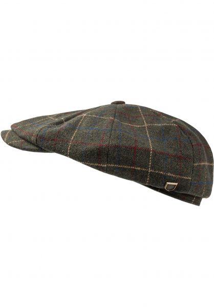 Brixton Hüte Brood Baggy moss vorderansicht 0580414