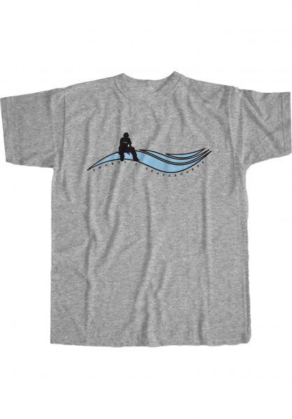 Shortys T-Shirts Muska Wave grey vorderansicht 0323887