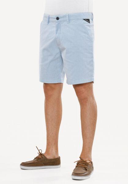 Reell Shorts Miami sky-blue Vorderansicht