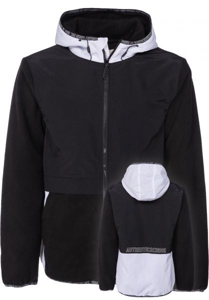 iriedaily Übergangsjacken GSE 2.0 Fleece Jacket black vorderansicht 0504397