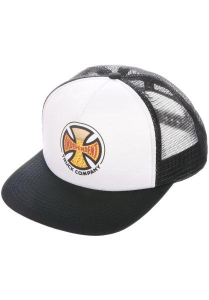 Independent Caps Suds white-black vorderansicht 0566636