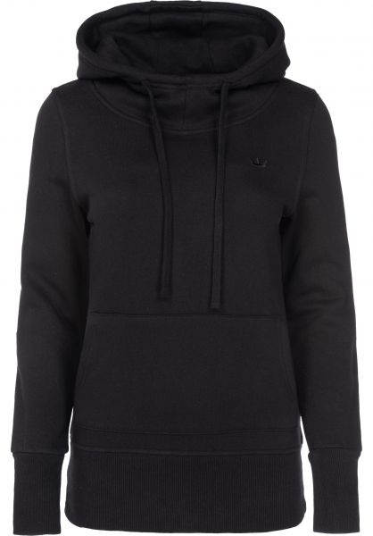 Rules Hoodies Delta-Girls black Vorderansicht