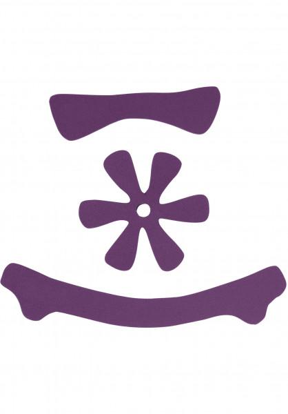 TSG Diverse Schoner Meta Helmet Pad Kit DC purple Vorderansicht