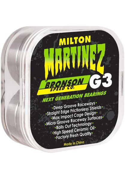 Bronson Speed Co. Kugellager Milton Martinez Pro G3 green vorderansicht 0180347