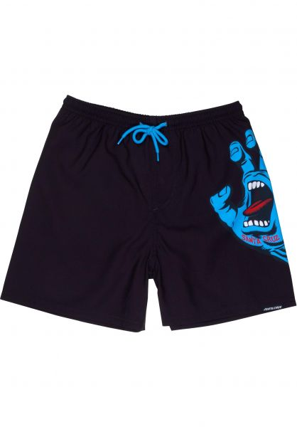 Santa-Cruz Shorts Youth Screaming Hand Boardie black vorderansicht 0205415