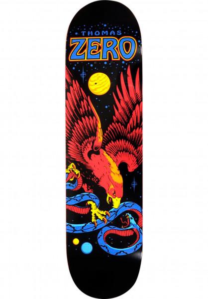 Zero Skateboard Decks Thomas Eagle & Snake black-multicolored Vorderansicht