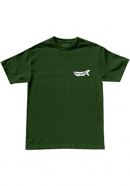 Doomsayers T-Shirts Corp Guy hunter-green Vorderansicht