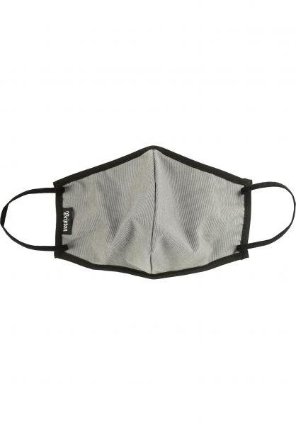Brixton Verschiedenes Antimicrobial Face Mask grey vorderansicht 0972591