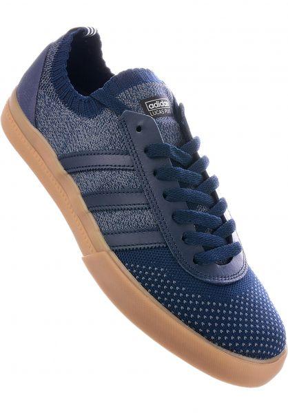 adidas-skateboarding Alle Schuhe Lucas Premiere Primeknit collegiatenavy-gum Vorderansicht 0604149