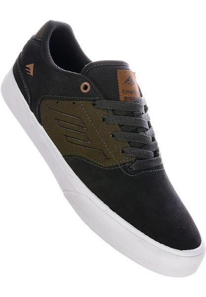 Emerica Alle Schuhe Reynolds Low Vulc grey-green vorderansicht 0603530