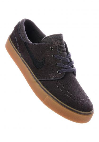 promo code e2723 0d594 Nike SB Alle Schuhe Zoom Stefan Janoski GS thundergrey-black Vorderansicht