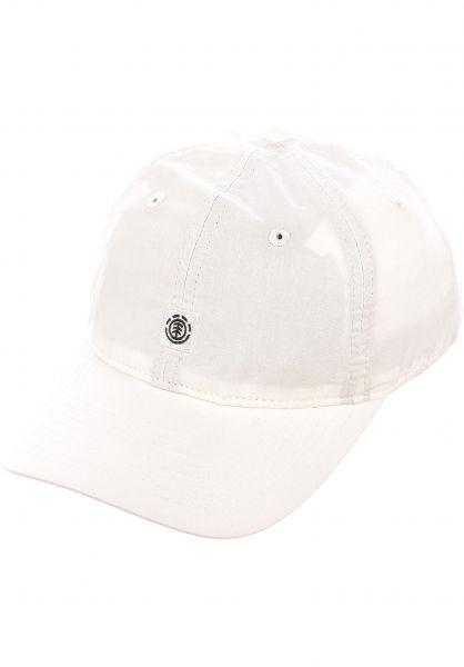 Element Caps Fluky Dad Hat Cap bonewhite vorderansicht 0565305