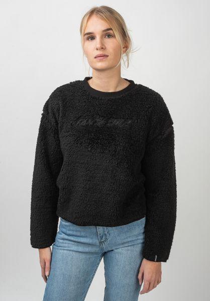 Santa-Cruz Sweatshirts und Pullover Teddy black vorderansicht 0422771