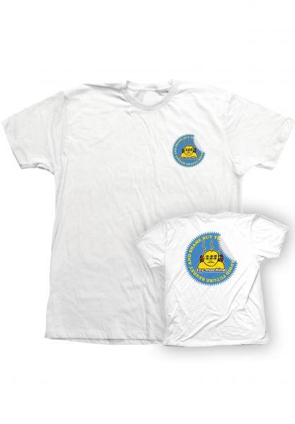 Toy-Machine T-Shirts Shame Buy white vorderansicht 0323481