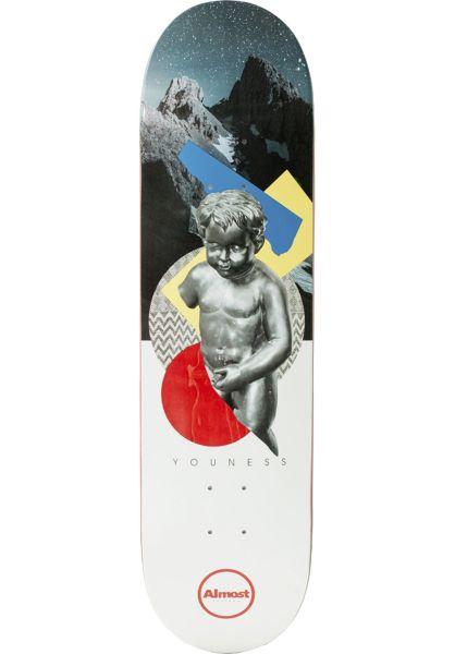 Almost Skateboard Decks Amrani Cut & Paste R7 multicolored vorderansicht 0263217