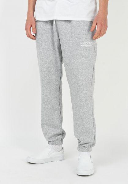 Goodbois Jogginghosen Trademark Sweat Pants grey vorderansicht 0680251