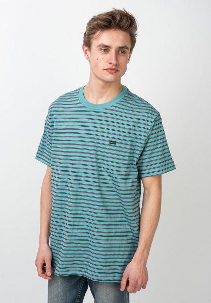 RVCA T-Shirts Runaway bermudablue vorderansicht 0321845