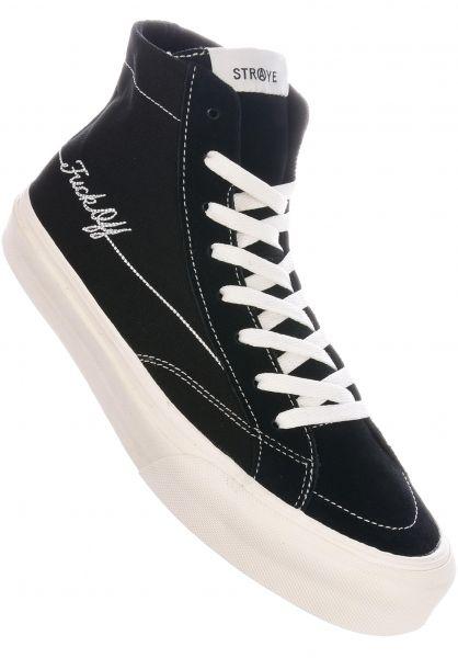 Straye Alle Schuhe Hiland fuckoff-black vorderansicht 0604747