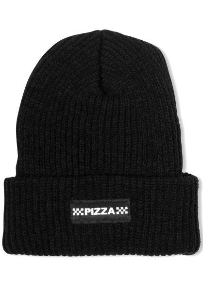 e1834f0a9ce Pizza Skateboards Mützen Checkered black vorderansicht 0572409