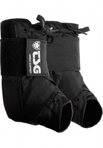 TSG Knöchelschoner Ankle Support black Vorderansicht