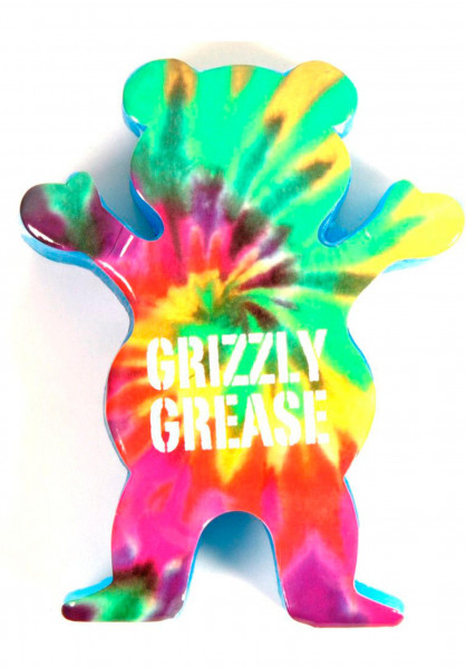 Grizzly Skate-Wachs Grease royal Vorderansicht