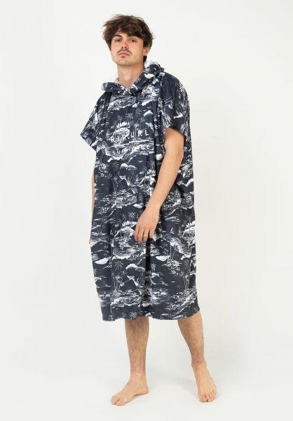 Rip Curl Verschiedenes Mix Up Hooded Towel navy vorderansicht 0972752