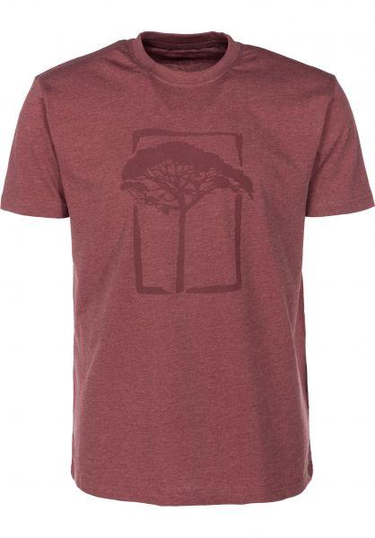 Mahagony T-Shirts T.O.L red vorderansicht 0399464
