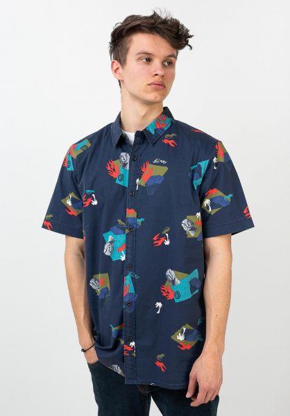 Globe Hemden kurzarm Blind Mind ink vorderansicht 0400930