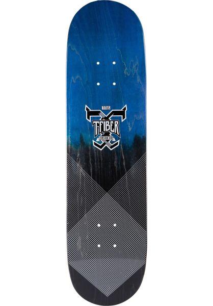 TITUS Skateboard Decks Colour Fade Logo T-Fiber blue-black vorderansicht 0261206