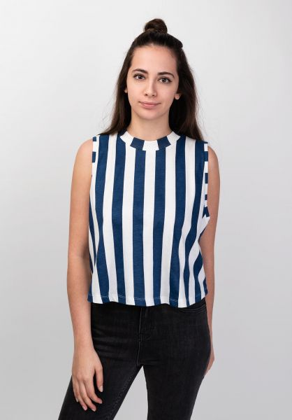Dedicated Tops Namsos Big Stripes offwhite vorderansicht 0352448