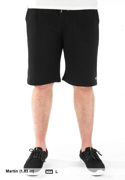 TITUS Sweatshorts Sweat Short black Vorderansicht