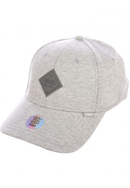 Djinns Caps Truefit Flex Basic Beauty heathergrey vorderansicht 0566490