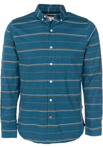 Wemoto Hemden langarm Diego atlantic-green vorderansicht 0411879