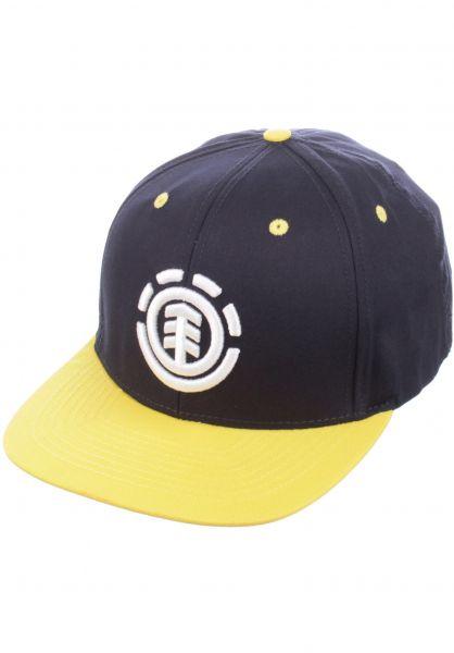 Element Caps Knutsen total-eclipse-yellow Vorderansicht