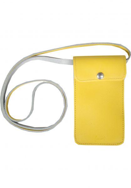 Forvert Portemonnaie Hauke yellow Vorderansicht