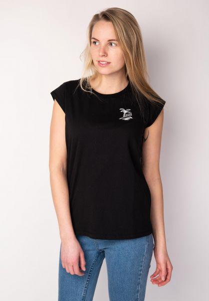 TITUS T-Shirts Aloha Island black vorderansicht 0398494