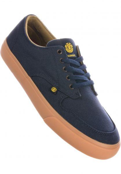 Element Alle Schuhe Topaz C3 navy-gum-canvas vorderansicht 0602449