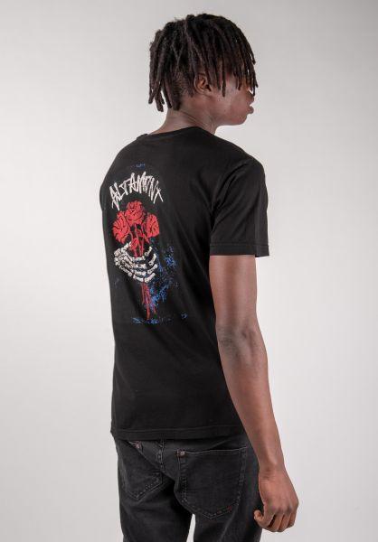 Altamont T-Shirts Tombstone black vorderansicht 0383226