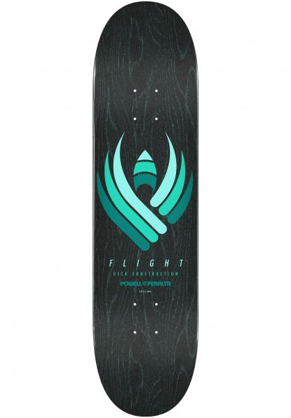 Powell-Peralta Skateboard Decks Flight 2019 Shape 244 black vorderansicht 0262829