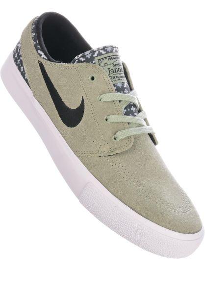 Nike SB Alle Schuhe Zoom Stefan Janoski RM Premium jade-black-white vorderansicht 0604665