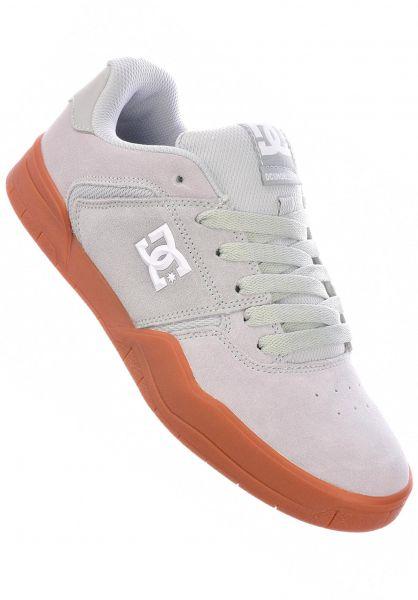 DC Shoes Alle Schuhe Central grey-gum vorderansicht 0604881