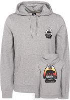 Element Hoodies Arrow greyheather Vorderansicht