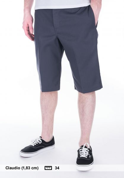 Dickies Chinoshorts 13'' Slim Fit Work Short charcoal Vorderansicht