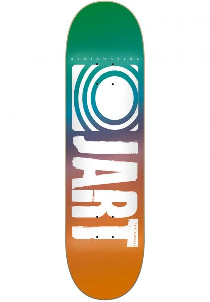 JART Skateboard Decks Classic II teal-orange vorderansicht 0265332