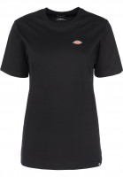 Dickies T-Shirts Stockdale W black Vorderansicht